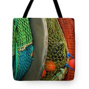 Ucluelet Fishing Nets Tote Bag