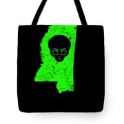 Ufo Abduction Extraterrestrial Archaeology Mississippi Tote Bag