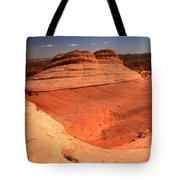 Ufo In Coyote Buttes Tote Bag