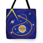 Ufo Universe Tote Bag
