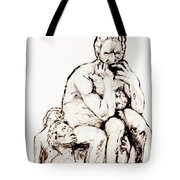 Ugolino And His Sons Tote Bag