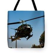 Uh-1 Huey Arrival Tote Bag