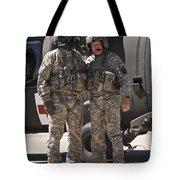 Uh-60 Black Hawk Crew Chiefs Tote Bag