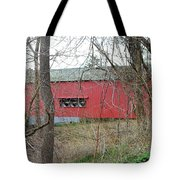 Uhlerstown Covered Bridge Tote Bag