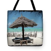 Uhuru Beach Lodge Zanzibar - Notkak Tote Bag