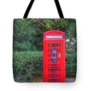 U.k. Phone Booth Tote Bag