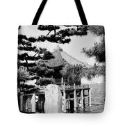 Ukimi-do Temple Tote Bag