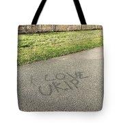 Ukip Grafitti Tote Bag