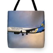 Ukraine International Airlines Boeing 737-8eh Tote Bag