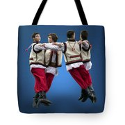 Ukrainian Dancers Tote Bag
