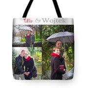 Ula And Wojtek Engagement 1 Tote Bag