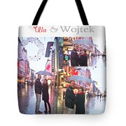 Ula And Wojtek Engagement 2 Tote Bag