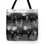 Ula And Wojtek Engagement 3 Tote Bag