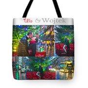 Ula And Wojtek Engagement 4 Tote Bag