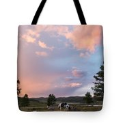 Ulagan Sunset. Mountain Altay Tote Bag