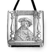 Ulrich Von Hutten, German Poet Tote Bag