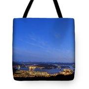 Ulsteinvik By Night Tote Bag