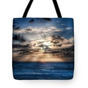 Ultra Blue Sunrise Tote Bag