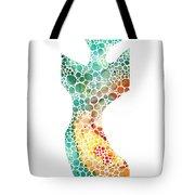Ultra Modern Art - Colorforms 2 - Sharon Cummings Tote Bag