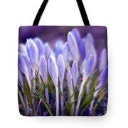 Ultra Violet Sound Tote Bag