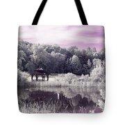 Ultraviolet Gazebo Tote Bag