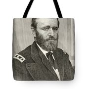 Ulysses S. Grant, 1822 To 1885. Union Tote Bag