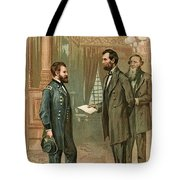 Ulysses S. Grant With Abraham Lincoln Tote Bag
