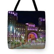 Umass Night Image Tote Bag