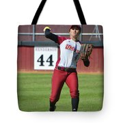 Umass Outfielder 4 Tote Bag