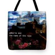 Umberto  Eco Poster  Tote Bag