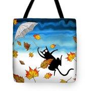 Umbrella Tote Bag by Andrew Hitchen