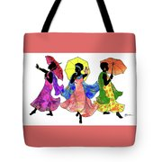 Umbrella Strut Tote Bag