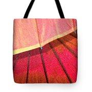 Umbrella Sunrise Tote Bag