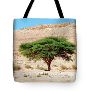 Umbrella Thorn Acacia, Negev Israel Tote Bag
