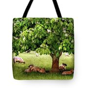 Umbrella Tree Tote Bag