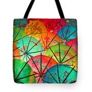 Umbrellas Galore Tote Bag