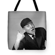 Umpire Making Out Signal, 1950s Tote Bag