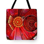 Umpqua River Lighthouse Lens In Hdr Tote Bag