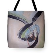 Unaccustomed Thought-abstract Art Tote Bag