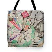 Unbalanced Dragon Tote Bag