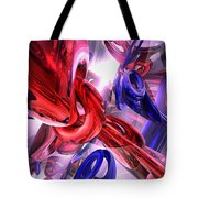 Unchained Abstract Tote Bag