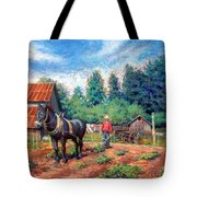 Uncle Frank And Bully Tote Bag