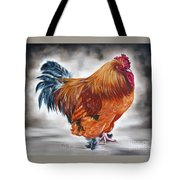 Uncle Samie's Rooster Tote Bag