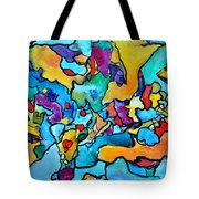 Uncommon Feasts Tote Bag by Chaline Ouellet