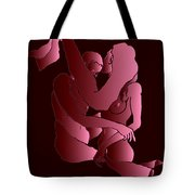 Uncovered Faces - Heartbeat Version Tote Bag