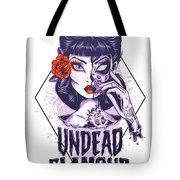 Undead Glamour Tote Bag