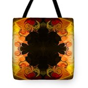 Undecided Bliss Abstract Healing Artwork By Omaste Witkowski Tote Bag