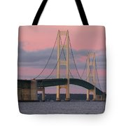 Under A Rose Colored Sky Tote Bag