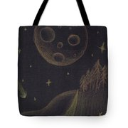 Under Alien Atars Tote Bag