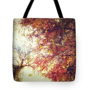 Under An Autumn Sky Tote Bag